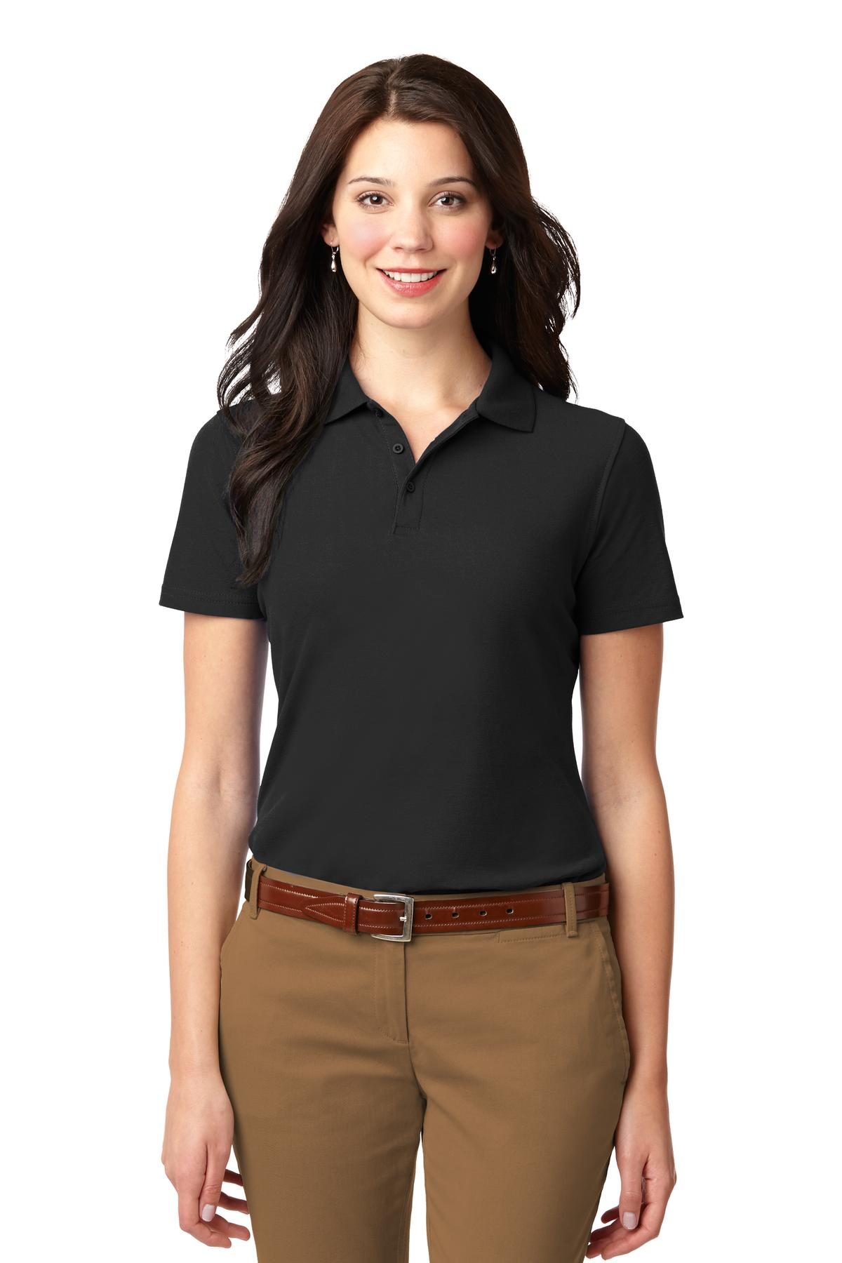 Welcome To Company Casuals Port Authority Ladies Stain