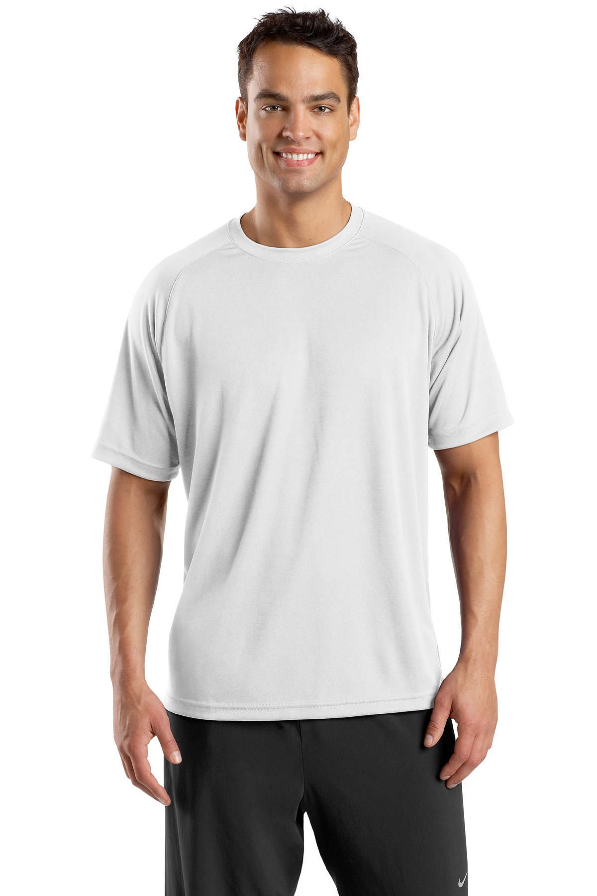 Plain white t shirts front and back the for Model white t shirt