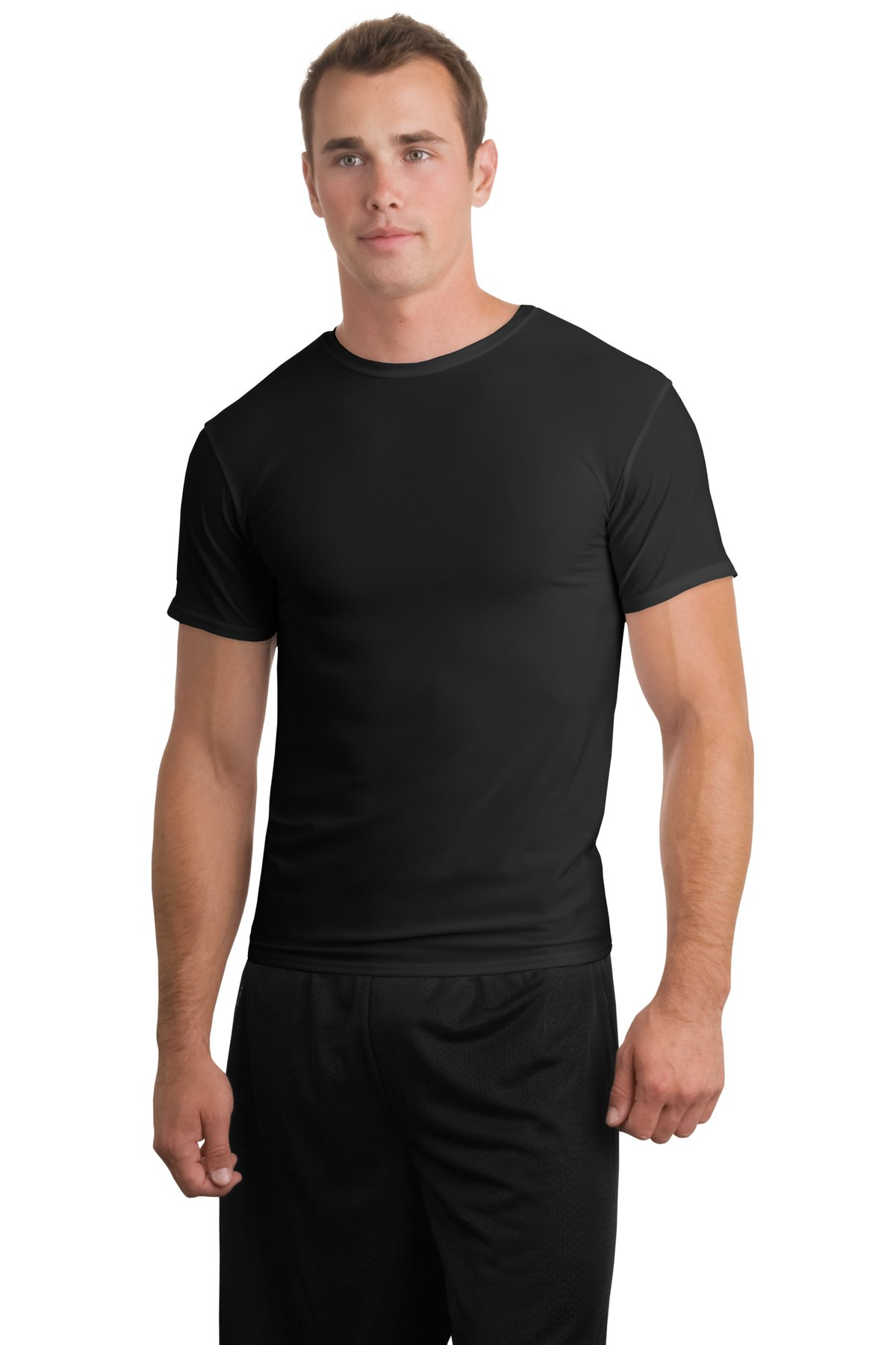 black t shirt model back - photo #4